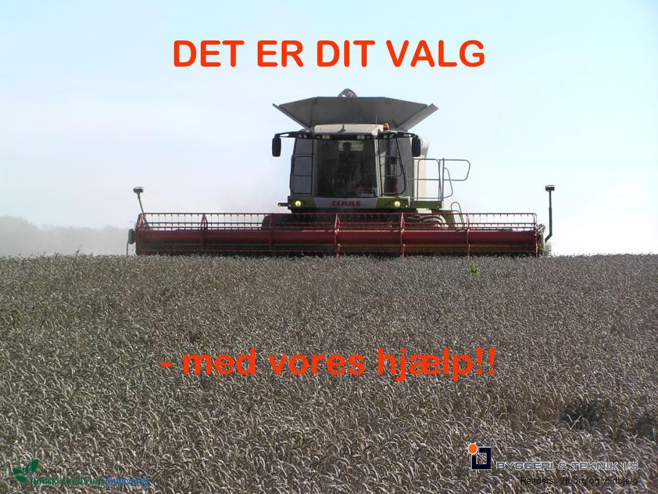 Randers, Viborg og Vildbjerg DET ER DIT VALG - med vores hjælp!!
