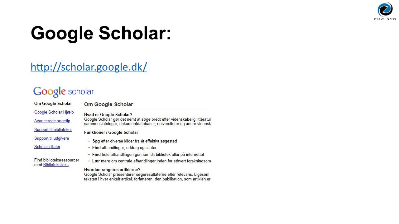 Google Scholar: http://scholar.google.dk/
