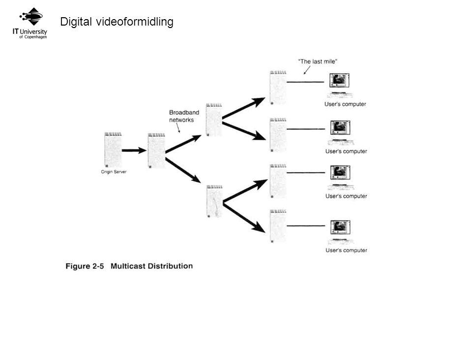 Digital videoformidling