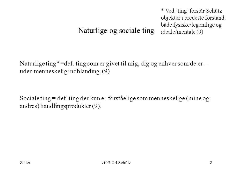 Zellervt05-2.4 Schütz8 Naturlige og sociale ting Naturlige ting* =def.