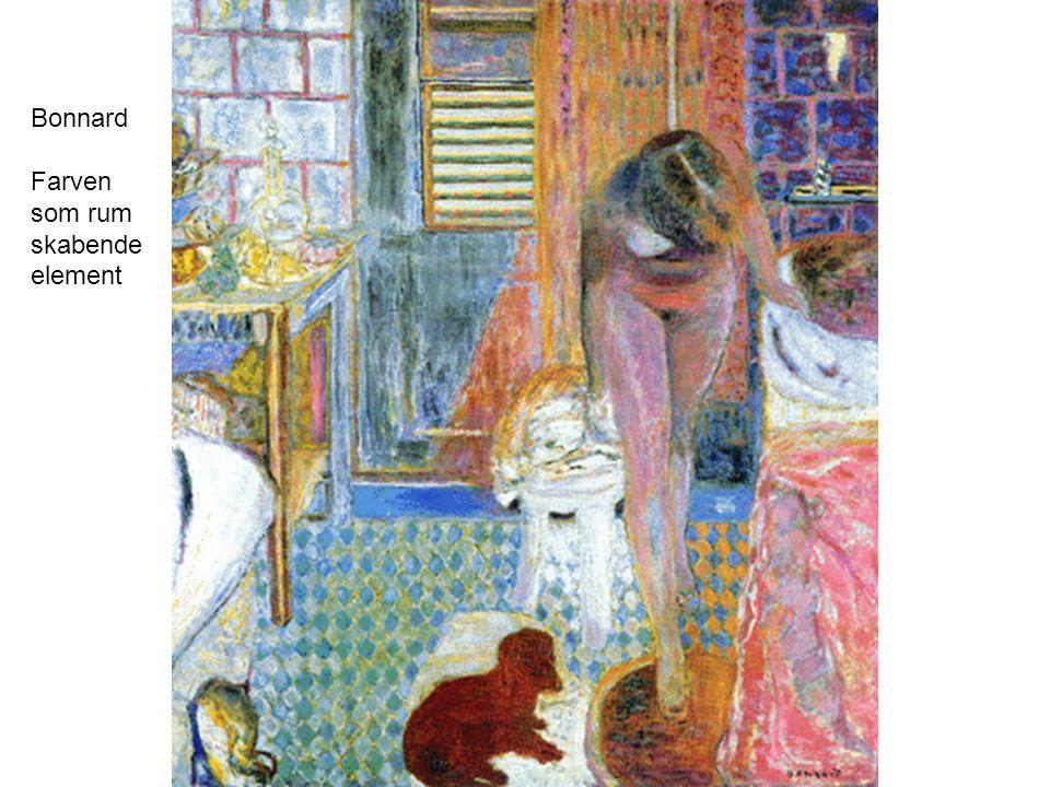 Bonnard Farven som rum skabende element