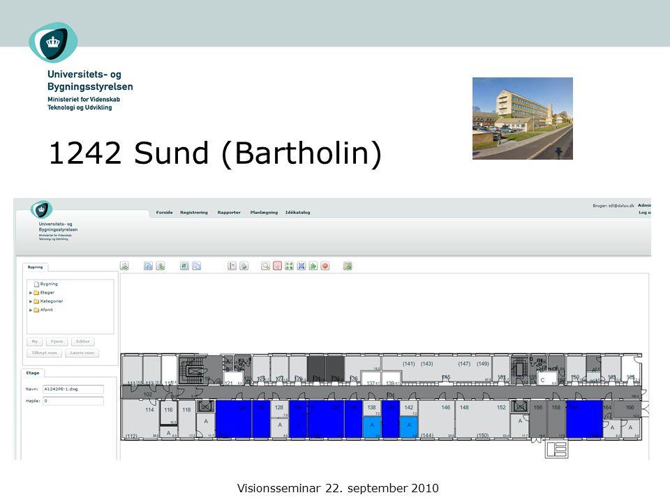 1242 Sund (Bartholin) Visionsseminar 22. september 2010