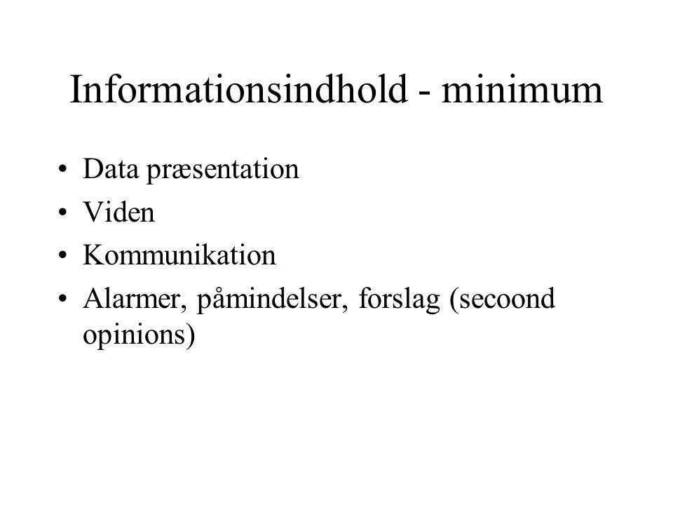 CSC Scandihealth's HIS' er Mest udbredte HIS/PAS i DK.