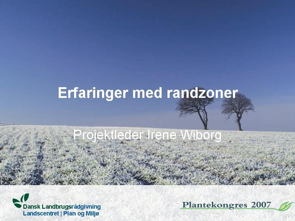 Dansk Landbrugsrådgivning Landscentret | Plan og Miljø