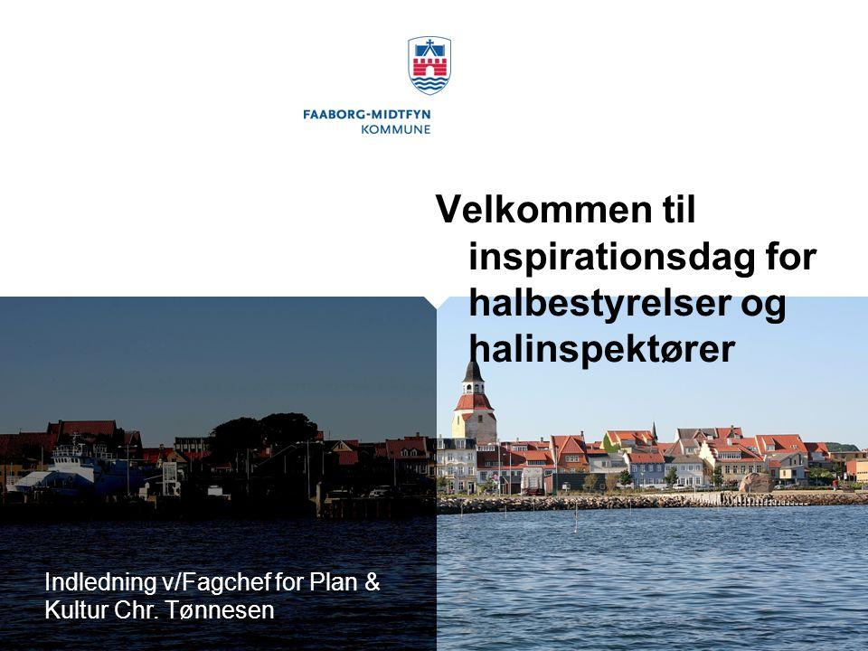 Indledning v/Fagchef for Plan & Kultur Chr.