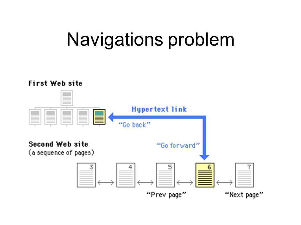 Navigations problem