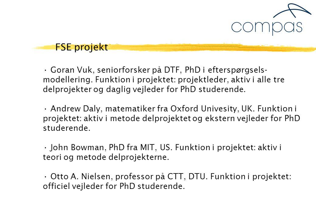 Goran Vuk, seniorforsker på DTF, PhD i efterspørgsels- modellering.
