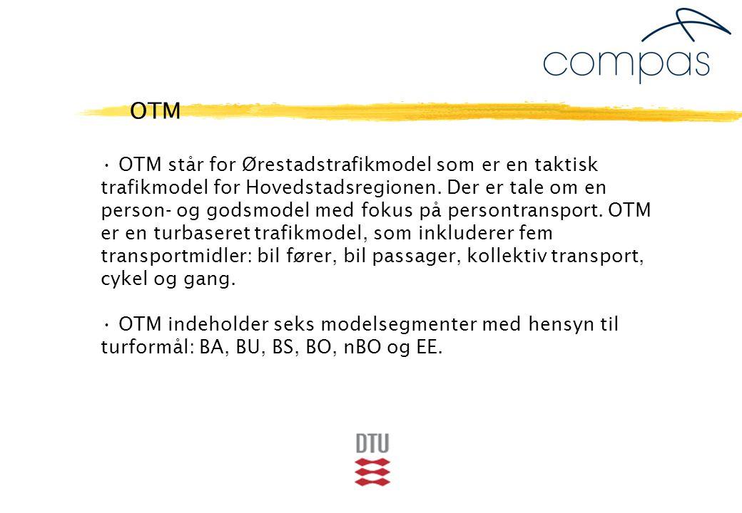OTM står for Ørestadstrafikmodel som er en taktisk trafikmodel for Hovedstadsregionen.