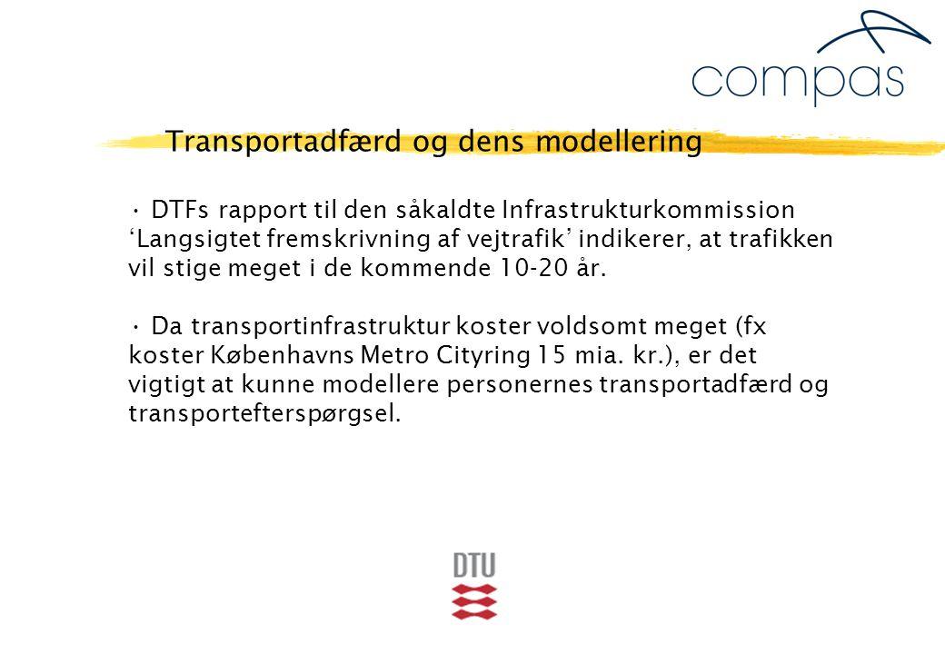 DTFs rapport til den såkaldte Infrastrukturkommission 'Langsigtet fremskrivning af vejtrafik' indikerer, at trafikken vil stige meget i de kommende 10-20 år.