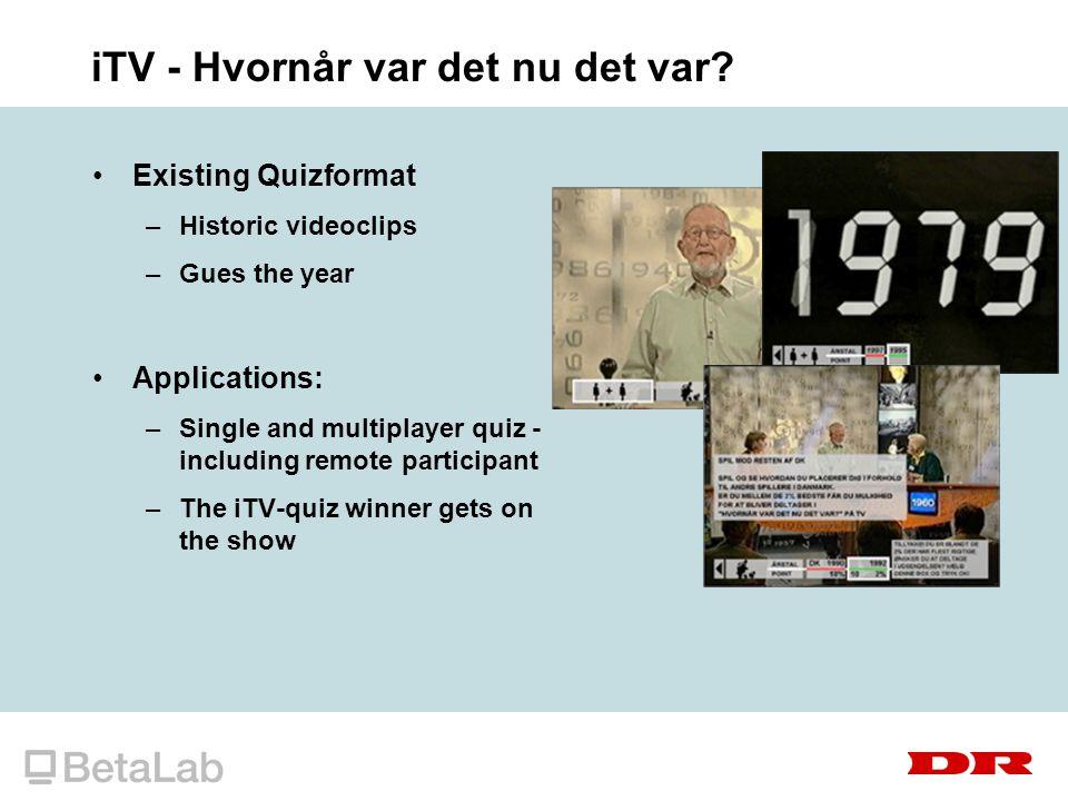 iTV - Hvornår var det nu det var.