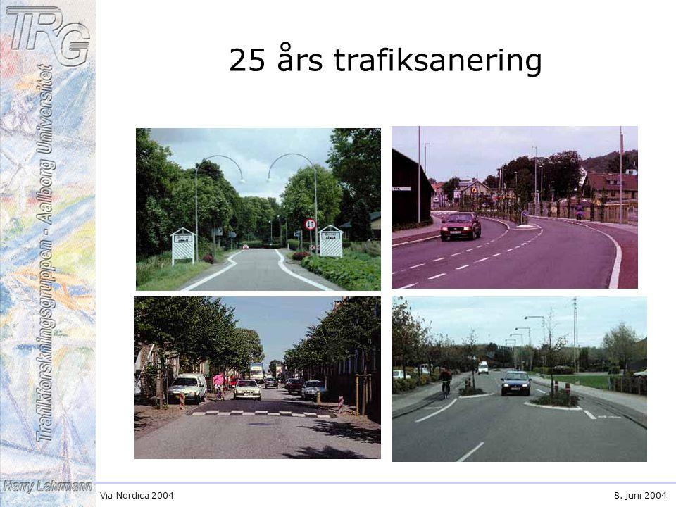 Via Nordica 20048. juni 2004 25 års trafiksanering