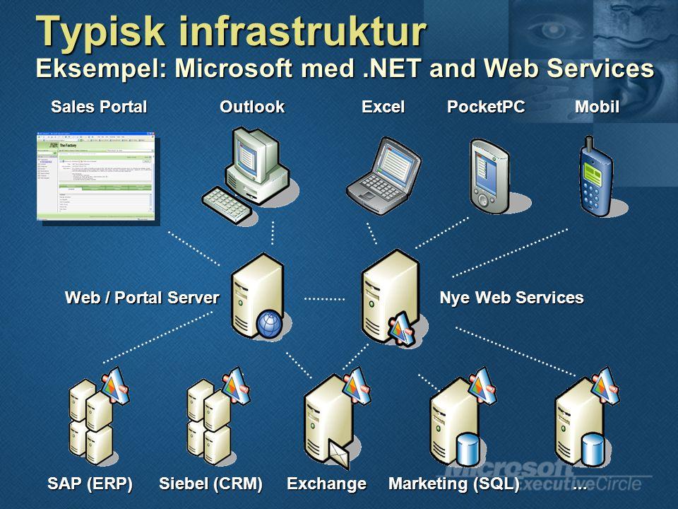 Sales Portal OutlookExcelPocketPCMobil SAP (ERP) Siebel (CRM) Exchange Marketing (SQL)...