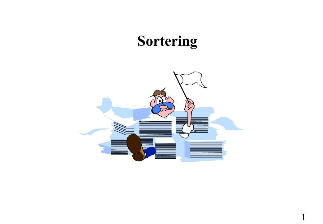 1 Sortering