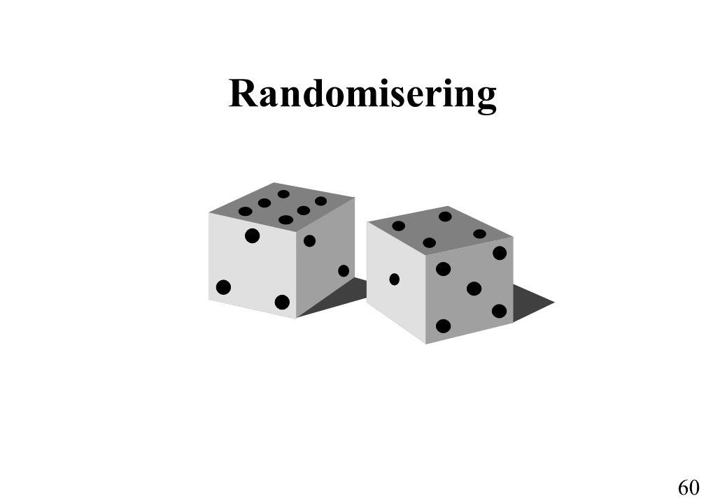 60 Randomisering