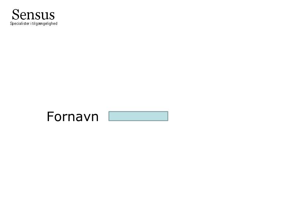 Fornavn