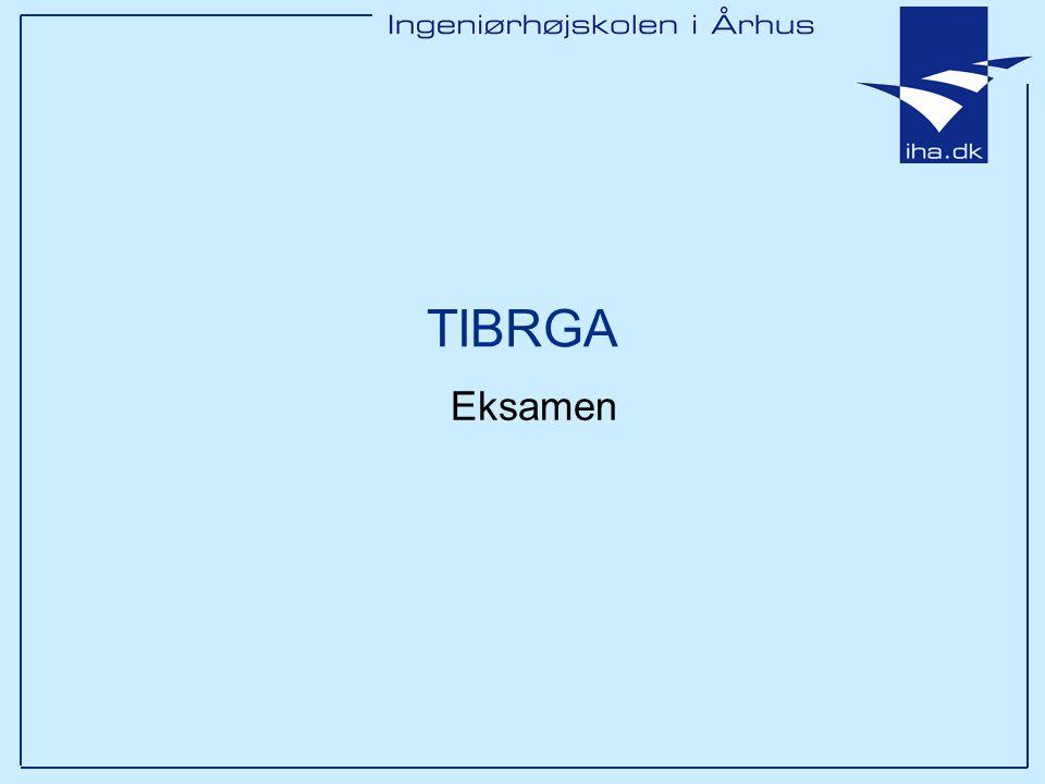 TIBRGA Eksamen