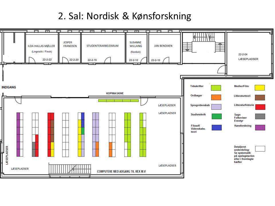 2. Sal: Nordisk & Kønsforskning