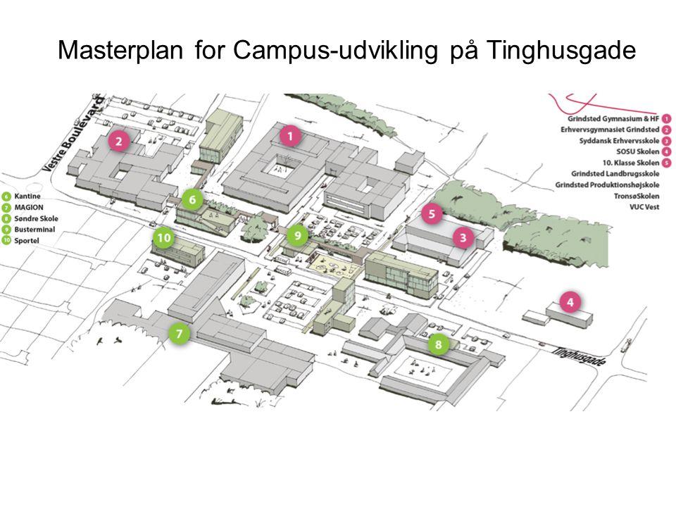 Masterplan for Campus-udvikling på Tinghusgade