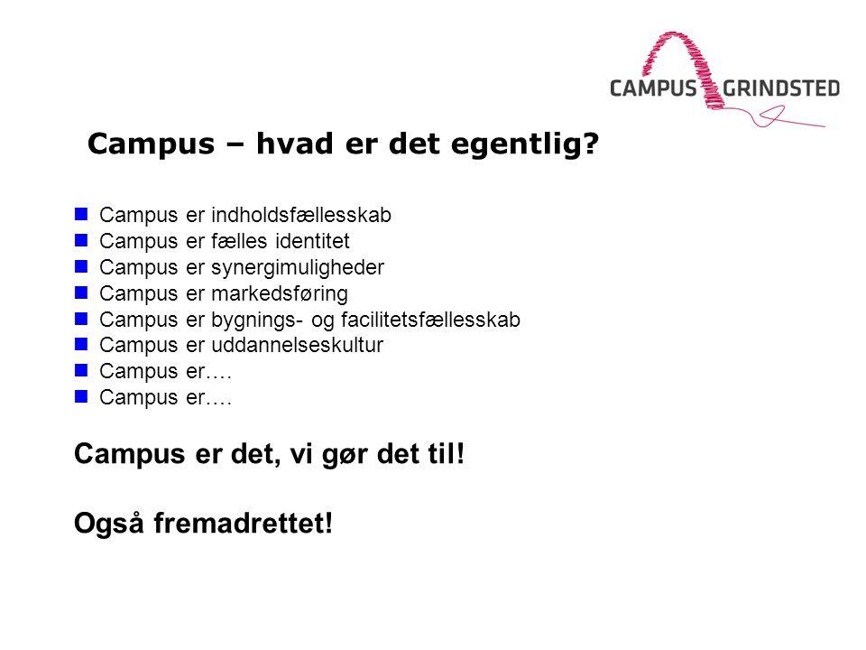Campus – hvad er det egentlig.
