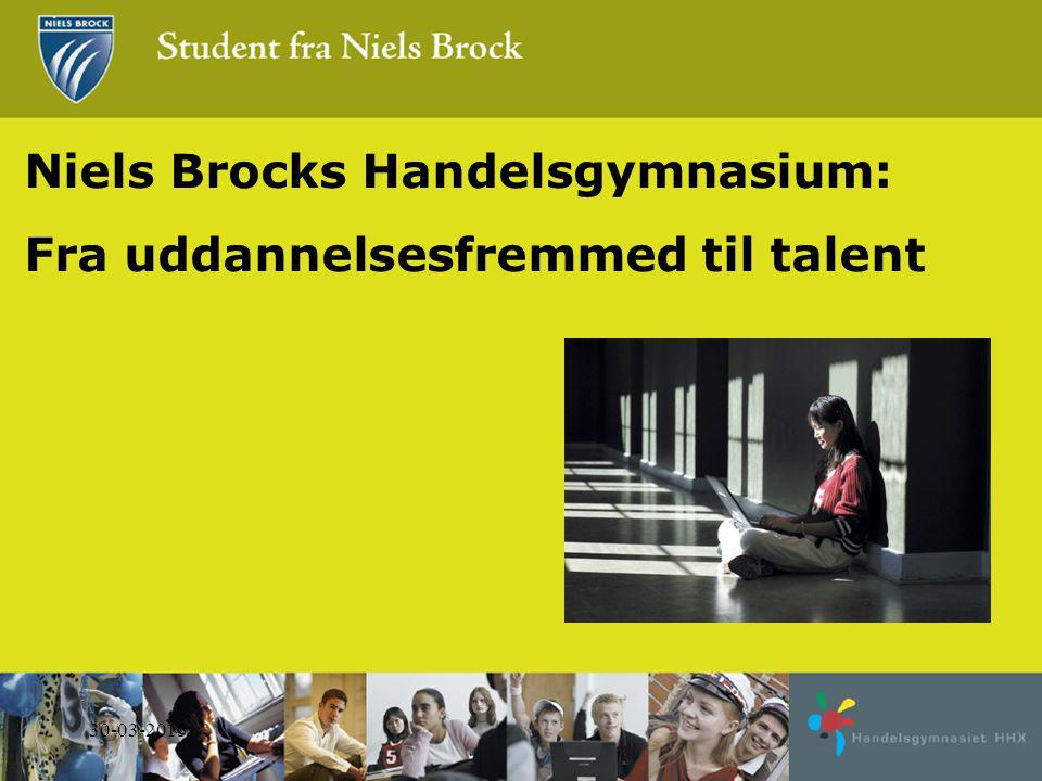 Niels Brocks Handelsgymnasium: Fra uddannelsesfremmed til talent 31-03-2015