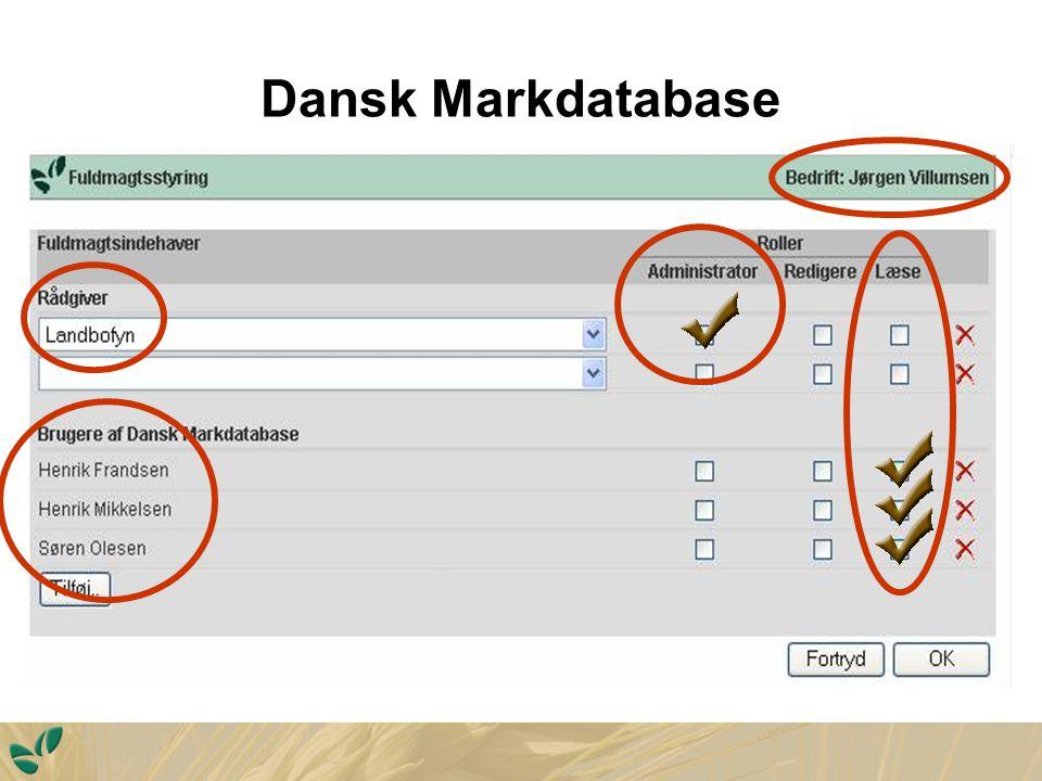 Dansk Markdatabase Politisk bestemt undergødskning med kvælstof på næsten 15 pct.