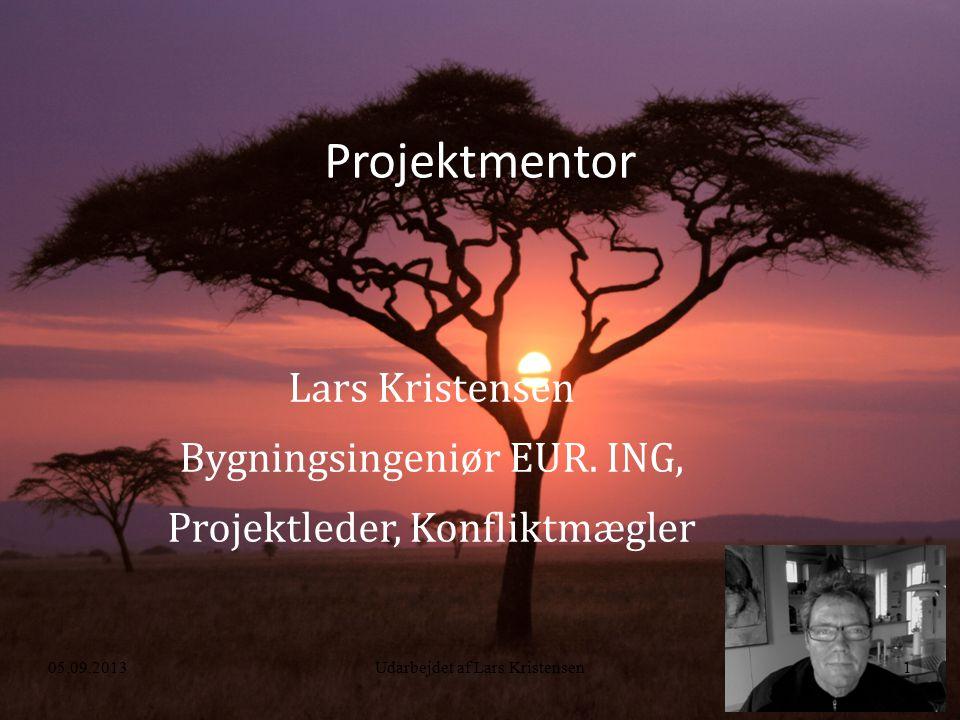 Projektmentor Lars Kristensen Bygningsingeniør EUR.