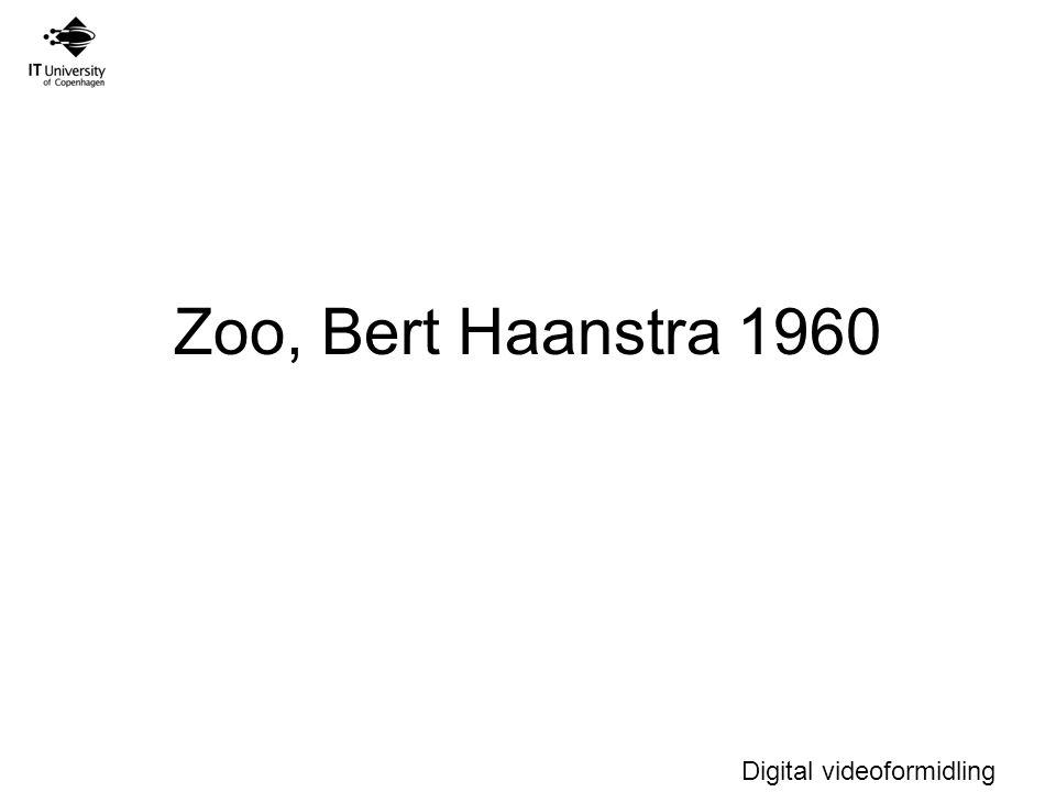 Digital videoformidling Zoo, Bert Haanstra 1960