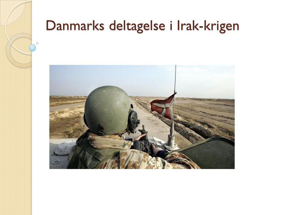Danmarks deltagelse i Irak-krigen