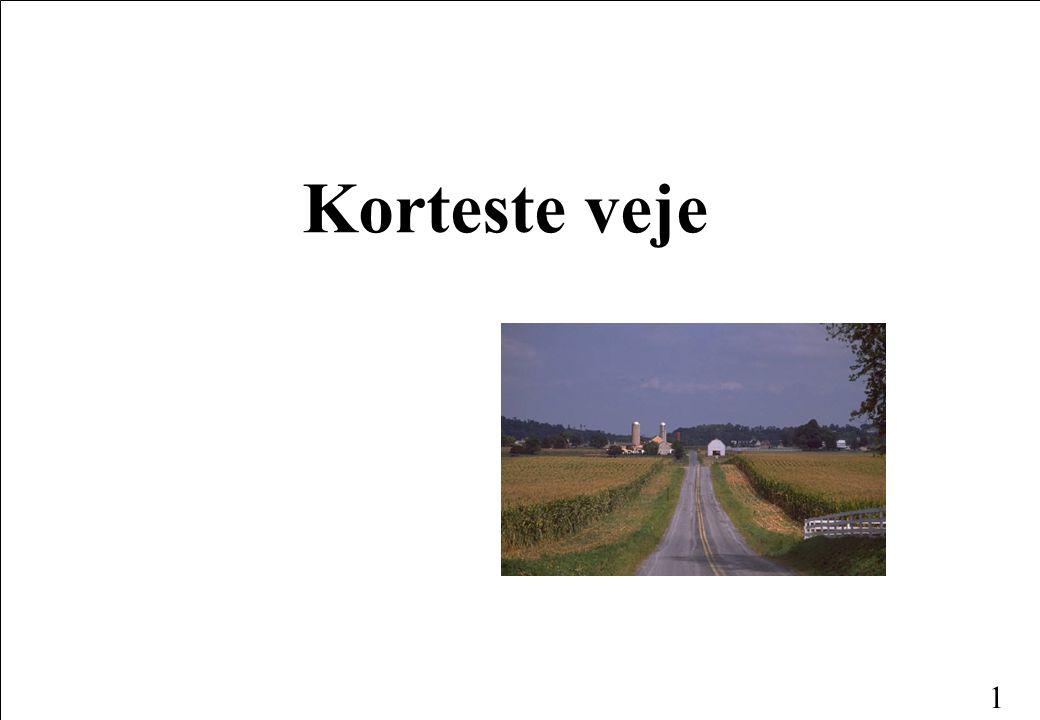 1 Korteste veje