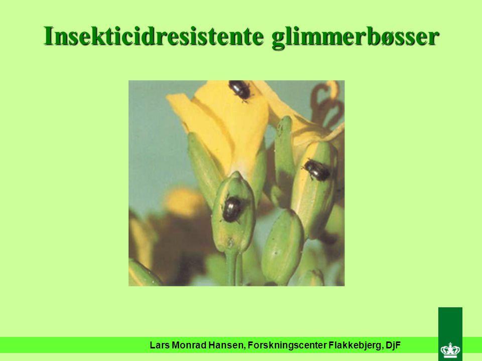 Lars Monrad Hansen, Forskningscenter Flakkebjerg, DjF Insekticidresistente ferskenbladlus