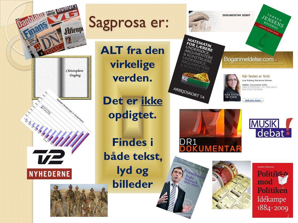 Forskellige avistyper Forskellige avistyper 3