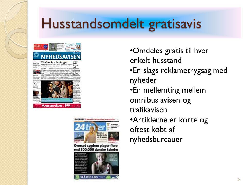 Typer af debat-artikler 27 Skrives af redaktøren Udspring i aktuel sag (forsiden) og tilkendegiver avisens holdning og synspunkt til denne sag.
