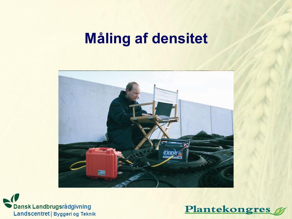 Dansk Landbrugsrådgivning Landscentret | Byggeri og Teknik Måling af densitet