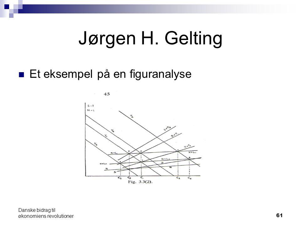 Jørgen H. Gelting Et eksempel på en figuranalyse 61 Danske bidrag til økonomiens revolutioner