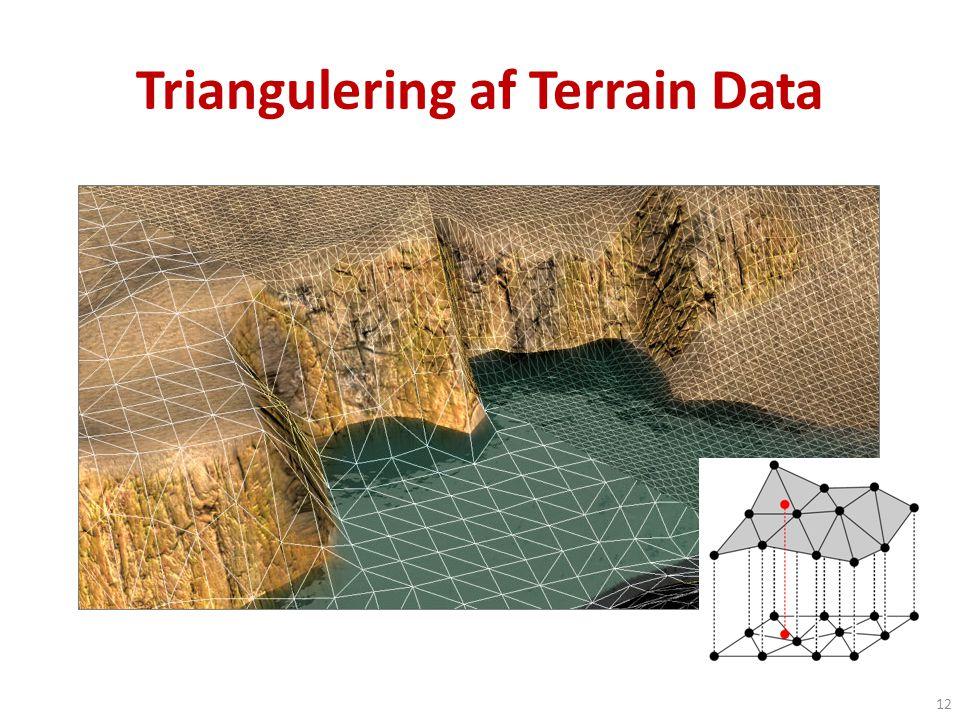 Triangulering af Terrain Data 12