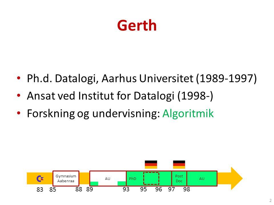 AU Gerth Ph.d.