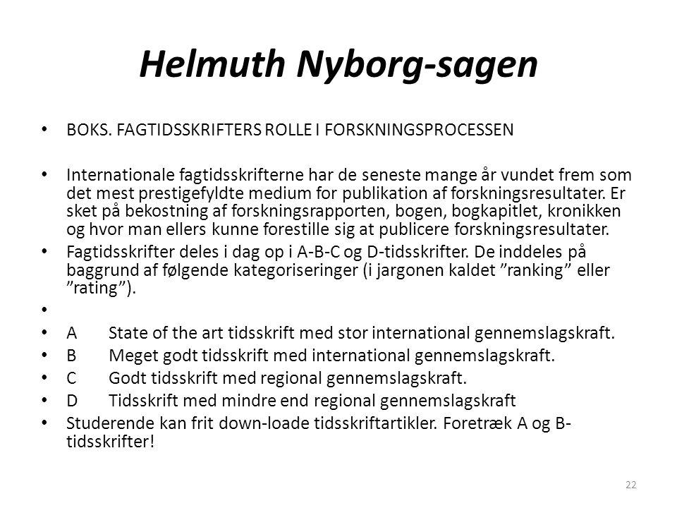 22 Helmuth Nyborg-sagen BOKS.
