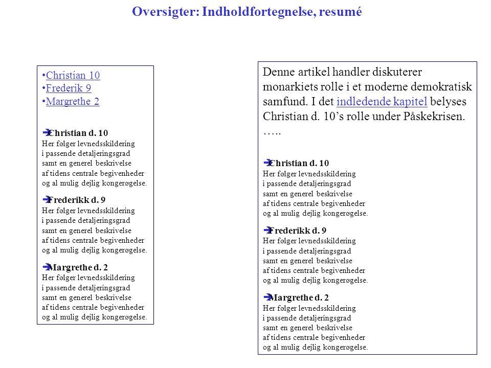 Christian 10 Frederik 9 Margrethe 2  Christian d.