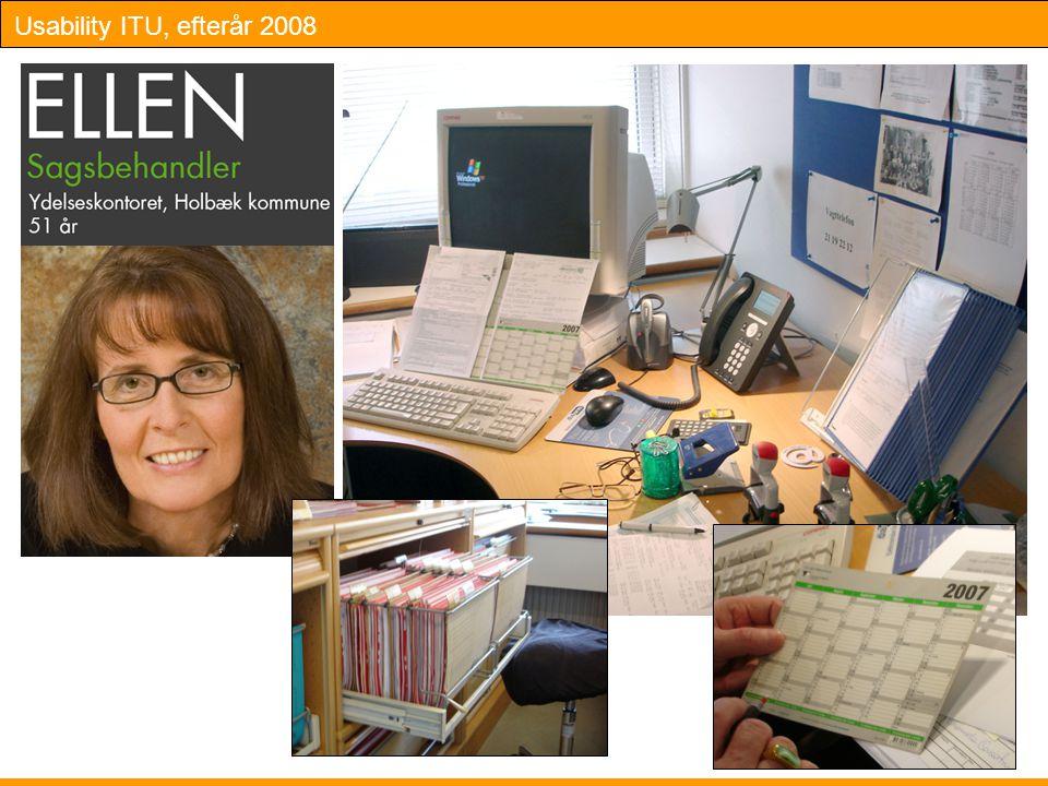 Usability ITU, efterår 2008 Slide 26