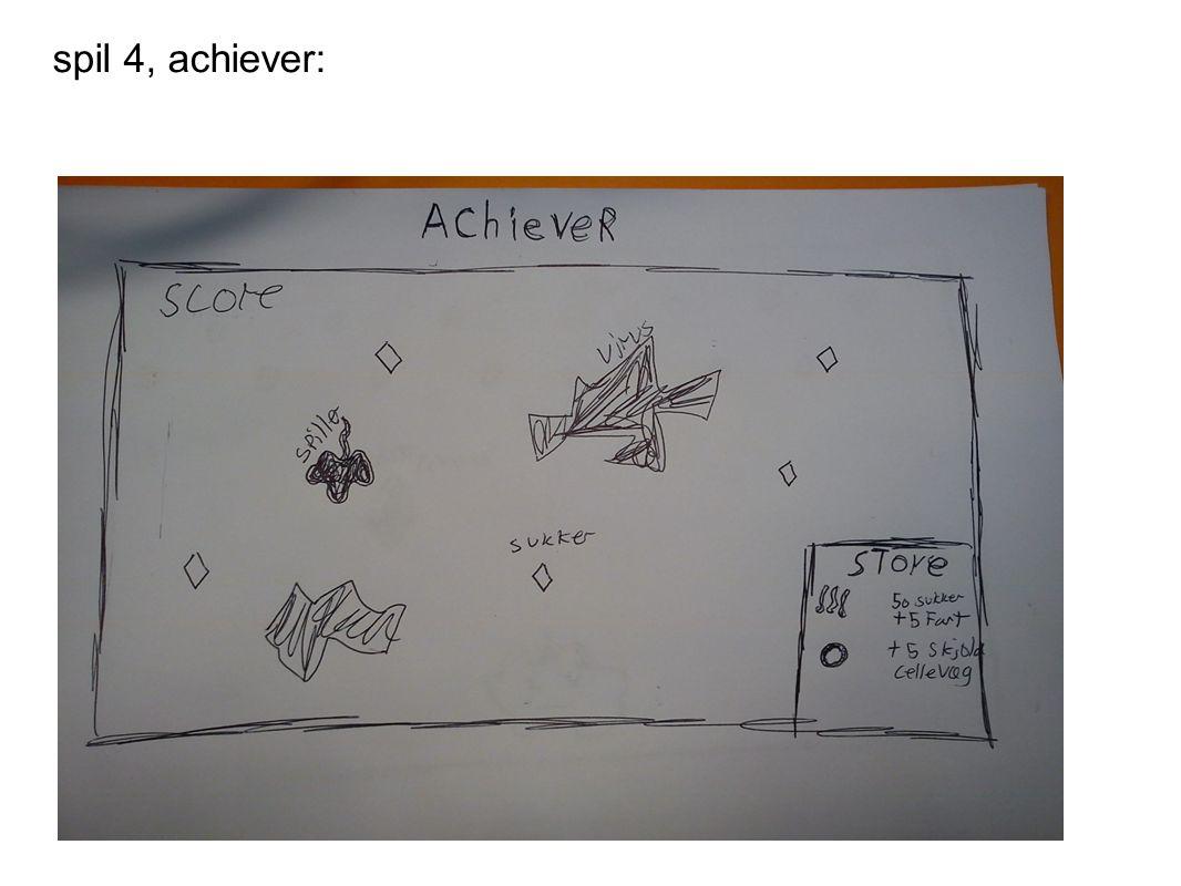 spil 4, achiever: