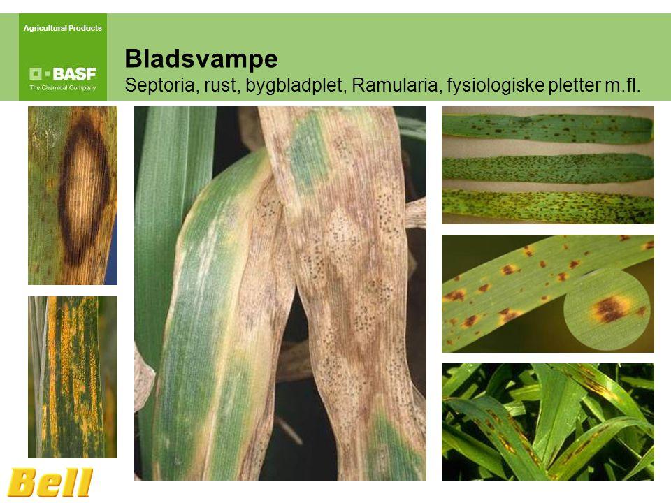 Agricultural Products Bladsvampe Septoria, rust, bygbladplet, Ramularia, fysiologiske pletter m.fl.