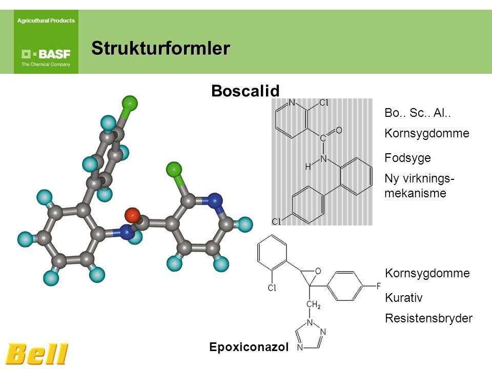 Agricultural Products Strukturformler Boscalid Epoxiconazol Bo..