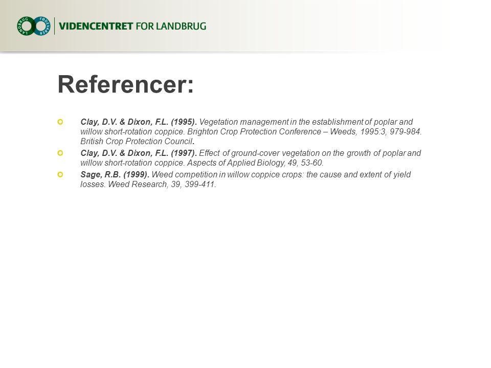 Referencer: Clay, D.V. & Dixon, F.L. (1995).