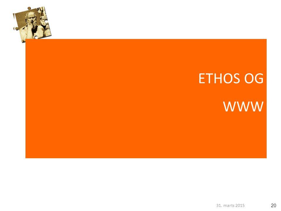 2031. marts 2015 ETHOS OG WWW
