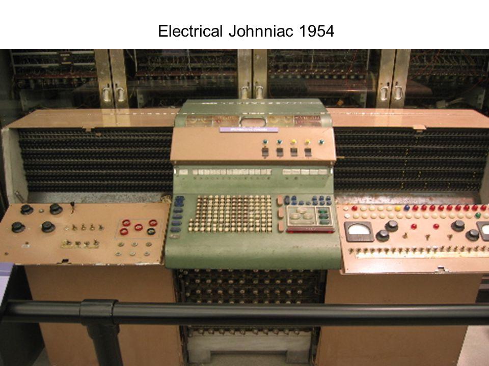 7/2 2007Lektion 433 Electrical Johnniac 1954