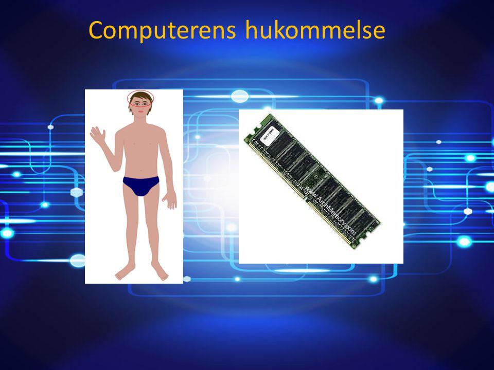 Computerens hukommelse Af: Patrick Renowden Olsen