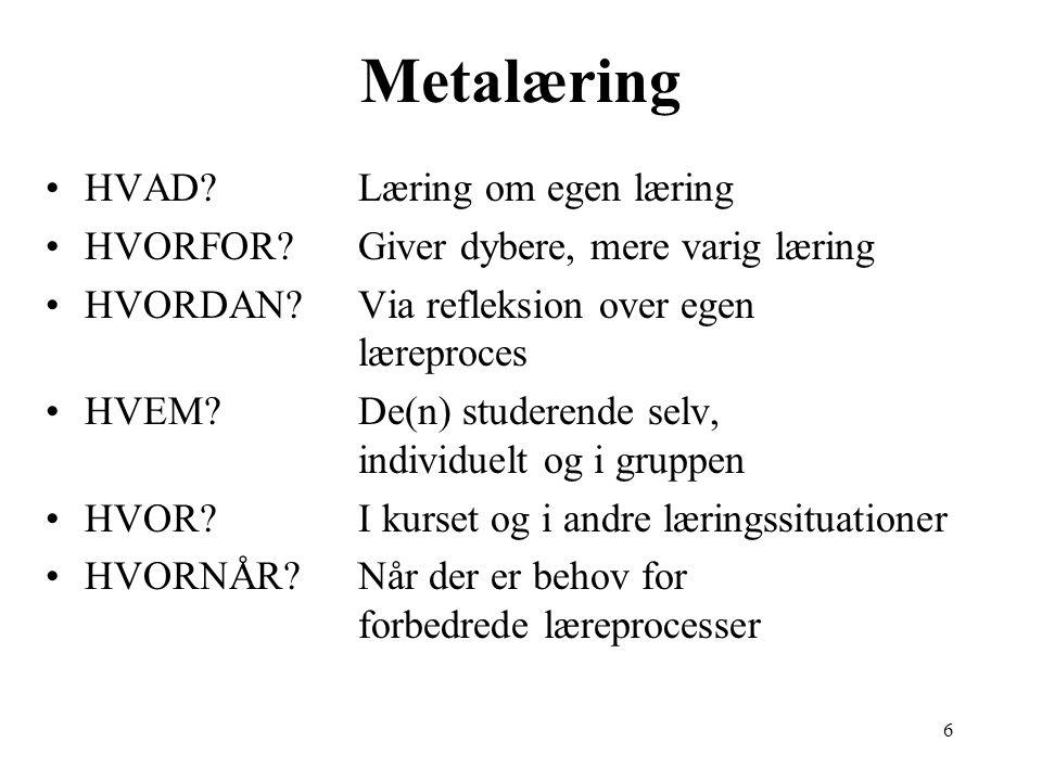 6 Metalæring HVAD.