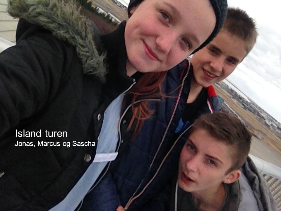 Island turen Jonas, Marcus og Sascha