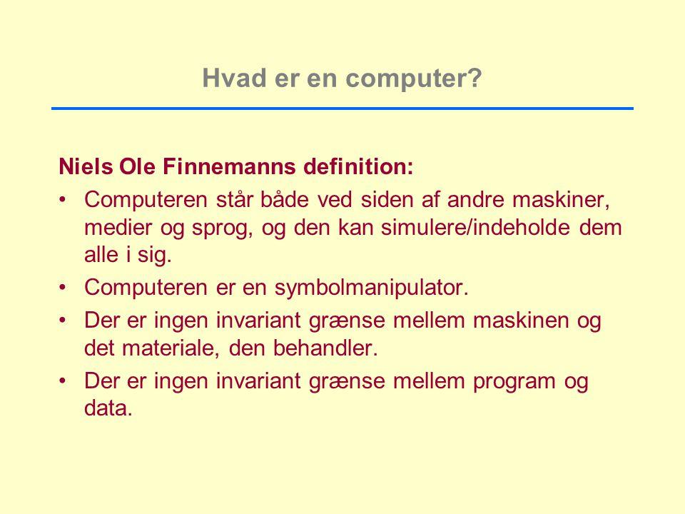 Hvad er en computer.