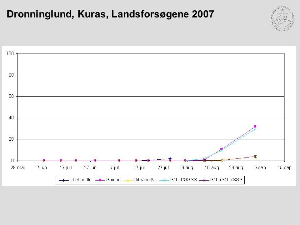Dronninglund, Kuras, Landsforsøgene 2007